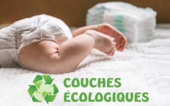 Couches écologiques : la couche écolo qui prend soin des bébés et de la planète