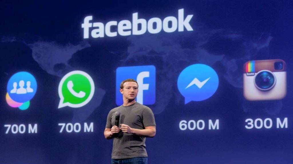 Mark Zuckerberg et Facebook en image
