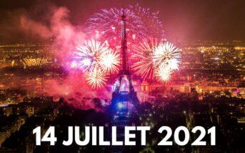 Vidéo replay : le feu d'artifice du 14 juillet 2021 à la Tour Eiffel Paris