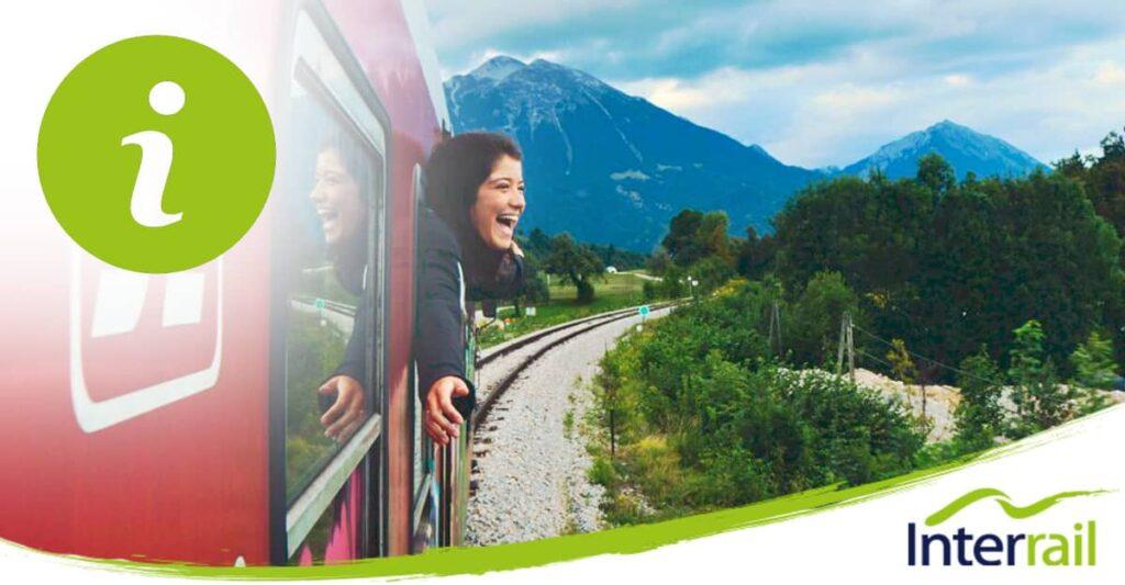 info interrail pass : le billet de train Europe