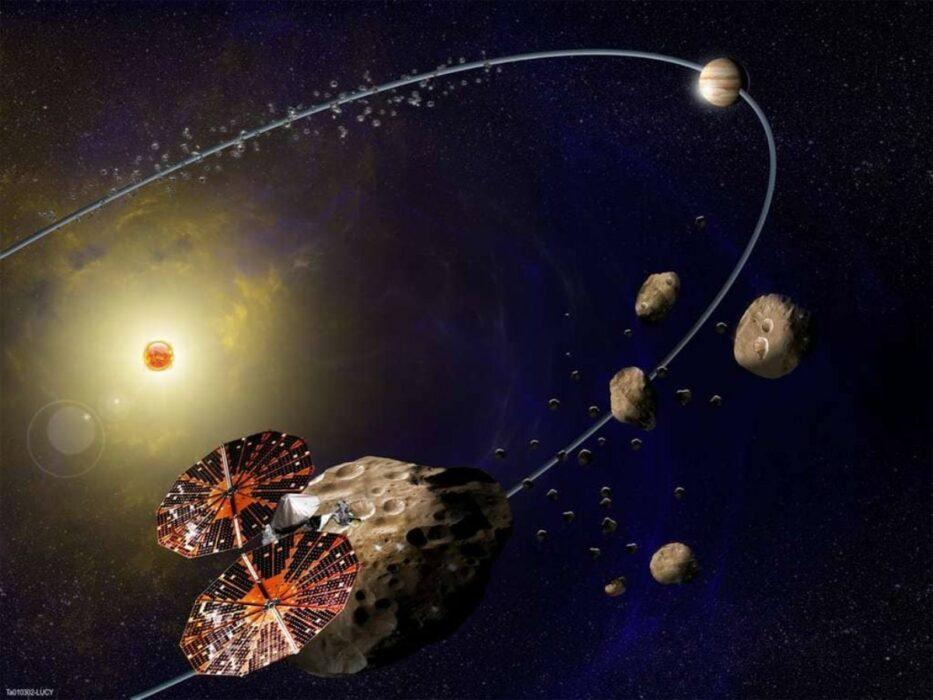 A missão espacial de Lucy para entender melhor o sistema solar.