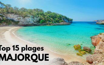 Plage Majorque : top 15 plus belles pages de l'île des Baléares