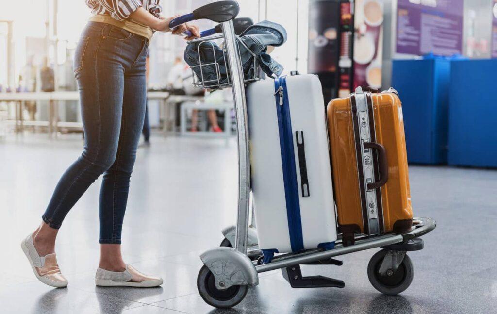 préparer valise bagages avion