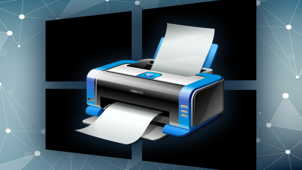 Print windows spooler en image