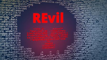 REvil code en image