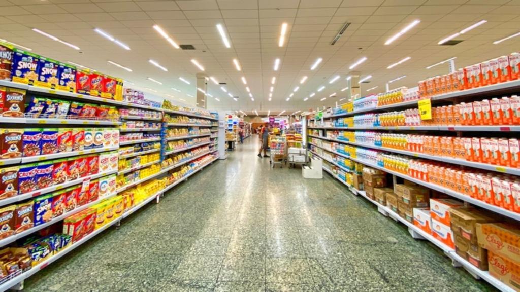 Supermarché au Royaume-Uni