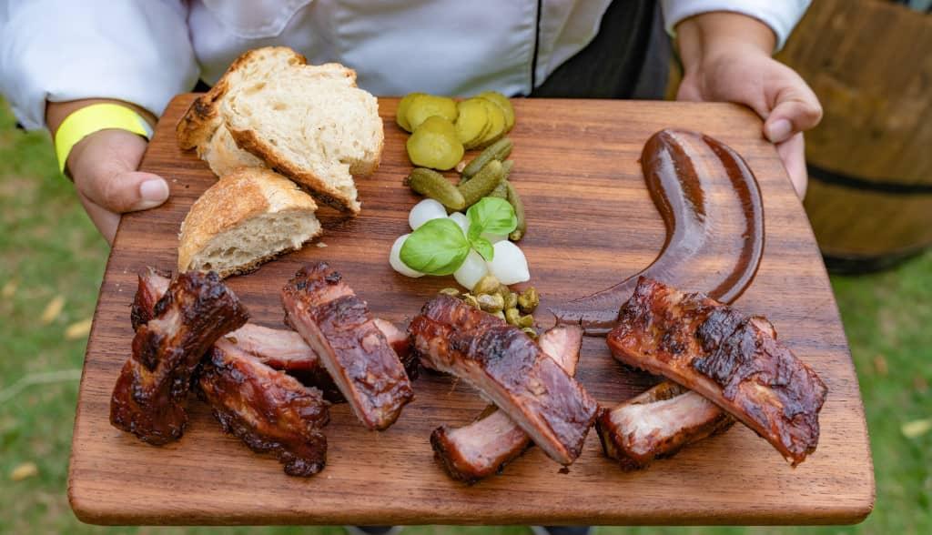 viande grillée parfaitement au barbecue
