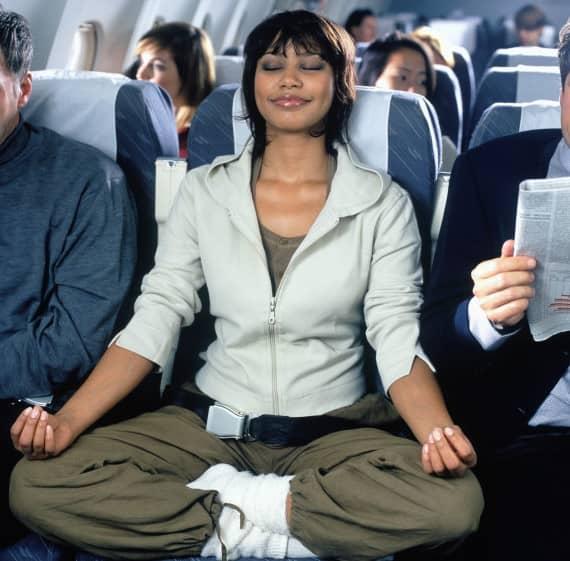 zen en avion sans stress