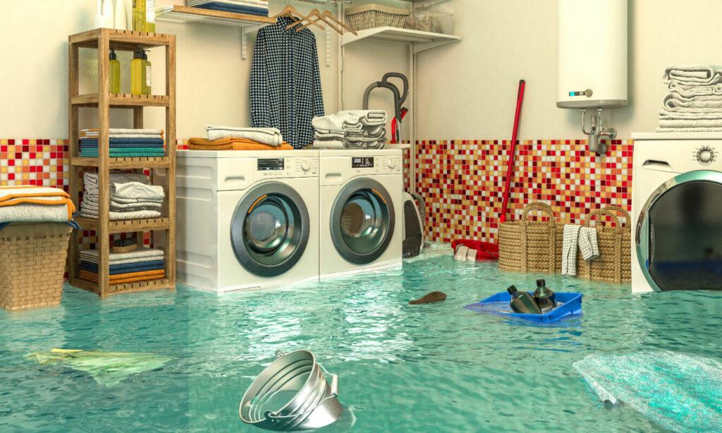 Machine à laver fuite d'eau