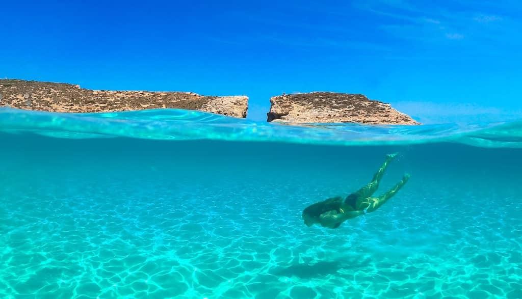 Blue Lagoon snorkeling Malte