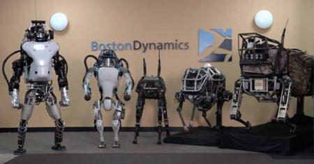 Des robots de Boston Dynamics