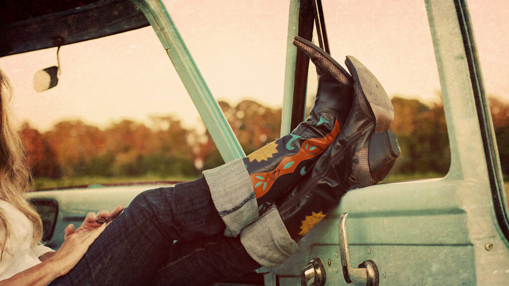 Cowboy-santiags