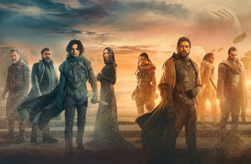 Les personnages du film Dune