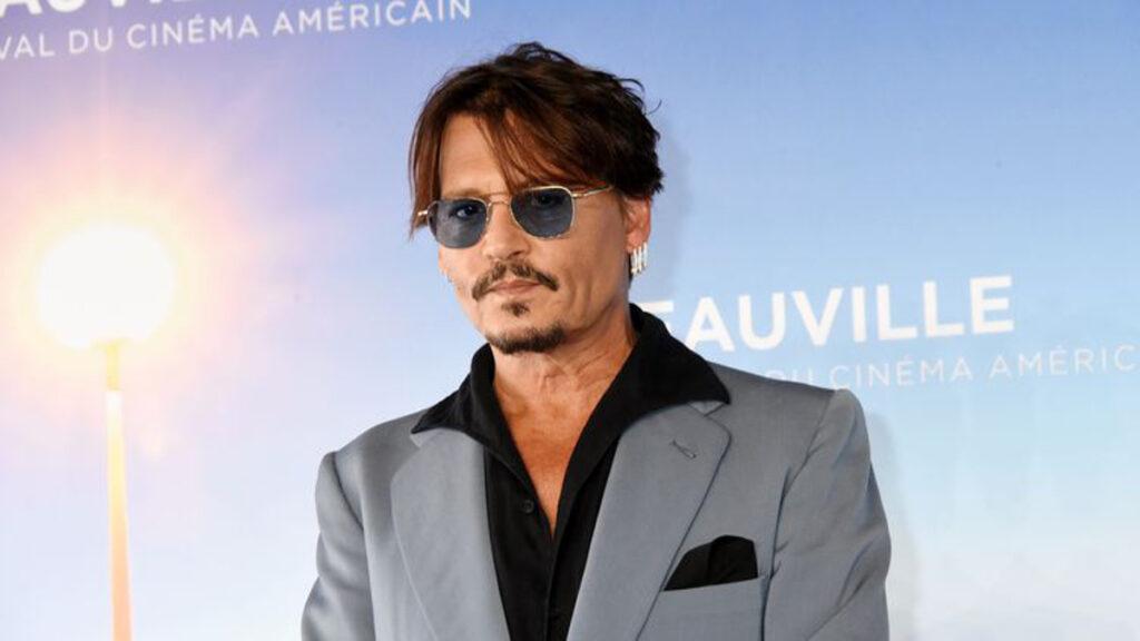 L'acteur Johnny Depp au Festival du cinéma américain de Deauville