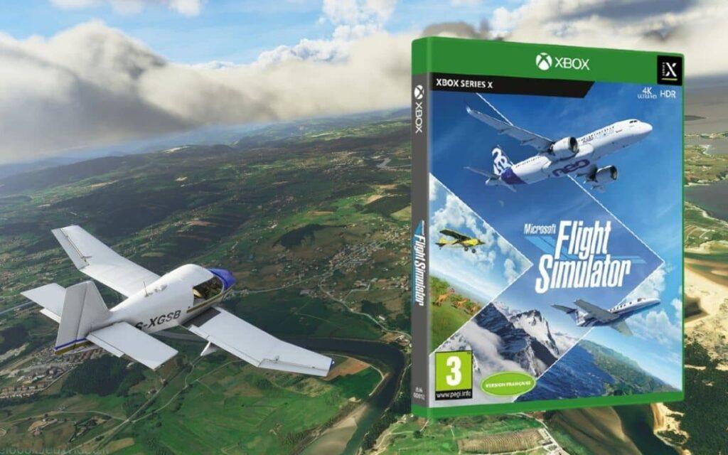 La version console de Microsoft Flight Simulatore est disponible sur Xbox Game Pass.
