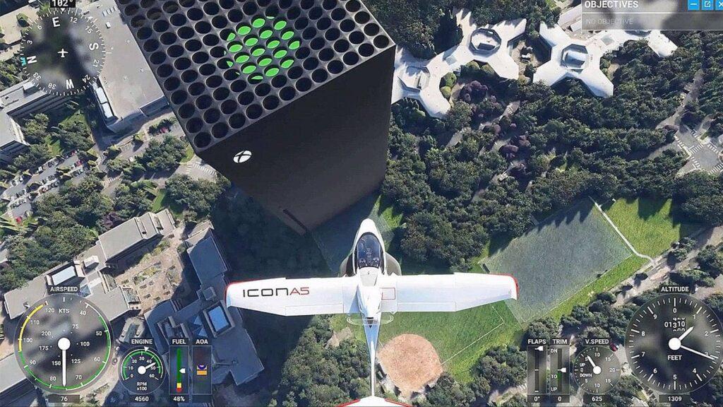 Microsoft Flight Simulator est disponible sur Xbox Series X et S.