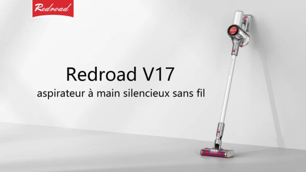 Redroad V17 aspirateur à main sans fil