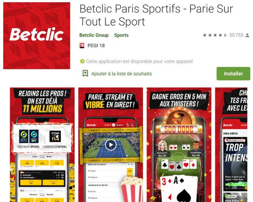 betclic application