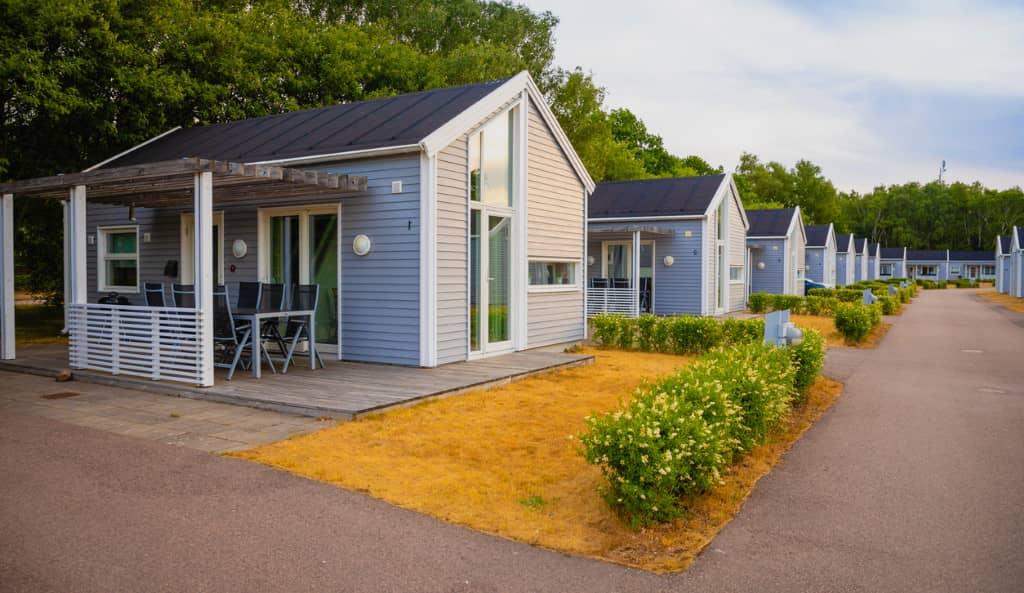 hébergements vacances Bretagne camping mobile home