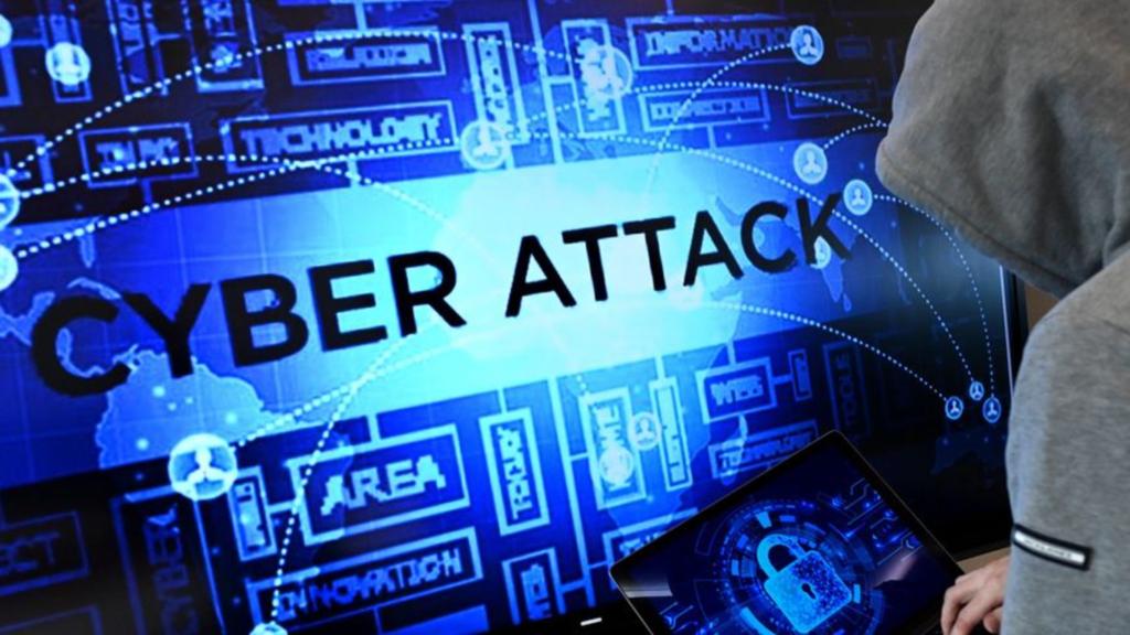 Cyberattaque en image.