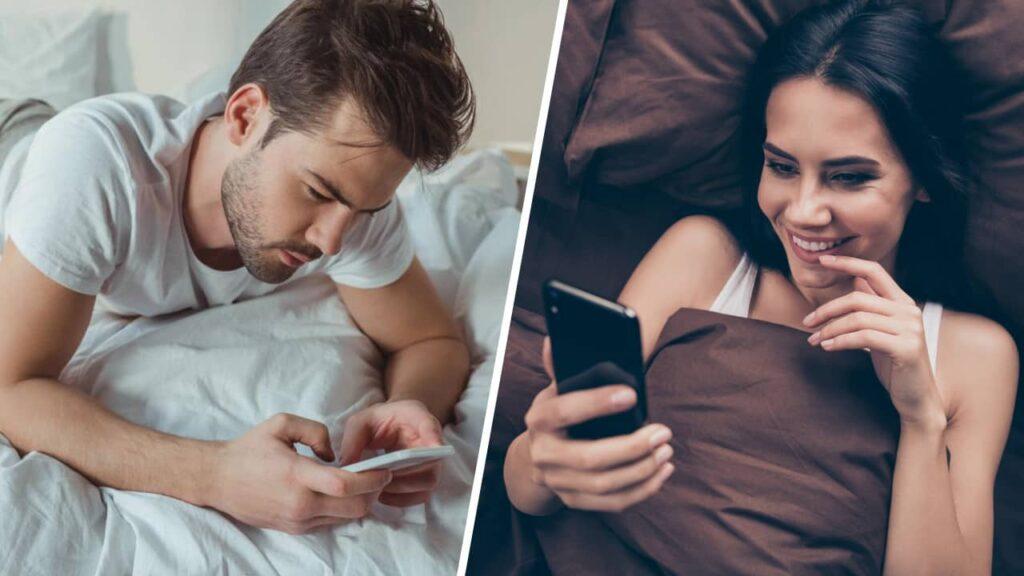 Drague par sms