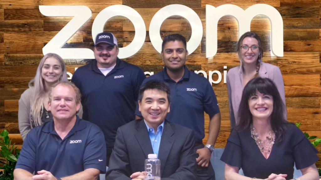 L'équipe de Zoom en image.
