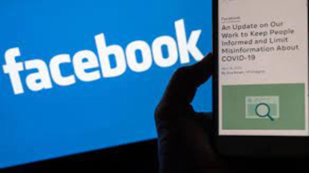 Facebook et smartphone en image