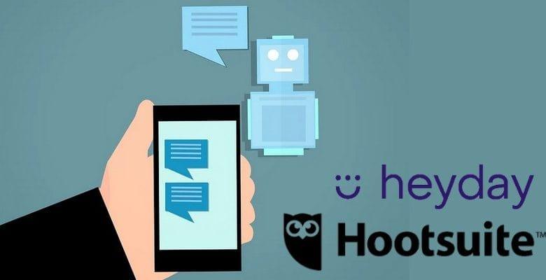 Hootsuite investie dans l'IA conversationnelle.