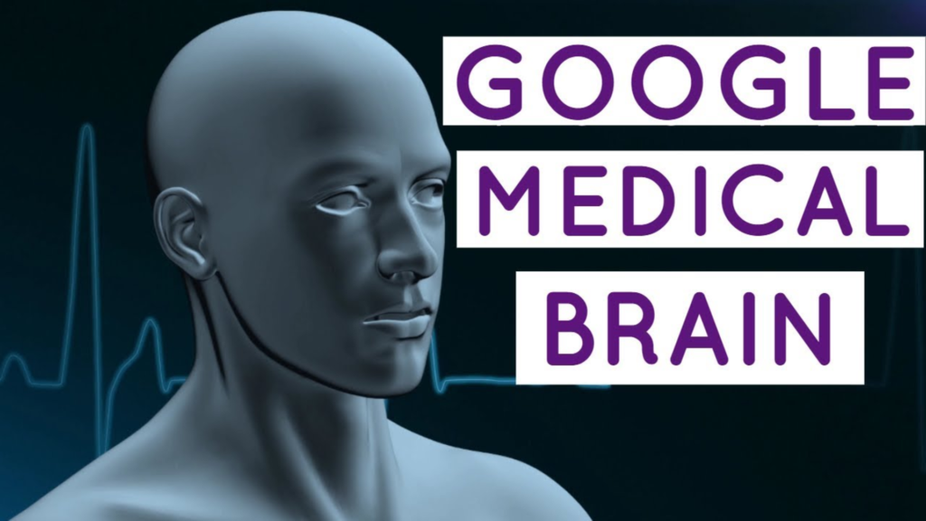 Robot de Google Medical Brain en image