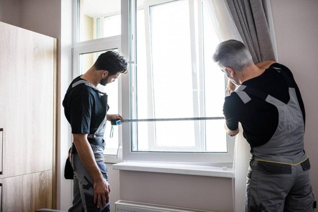 installation volet roulant fenêtre