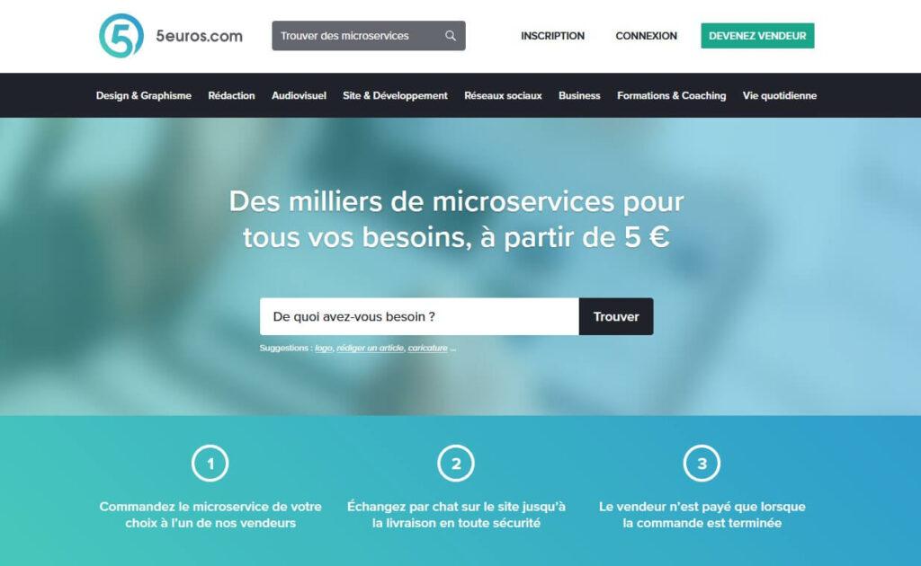5euros site missions freelance pas cher