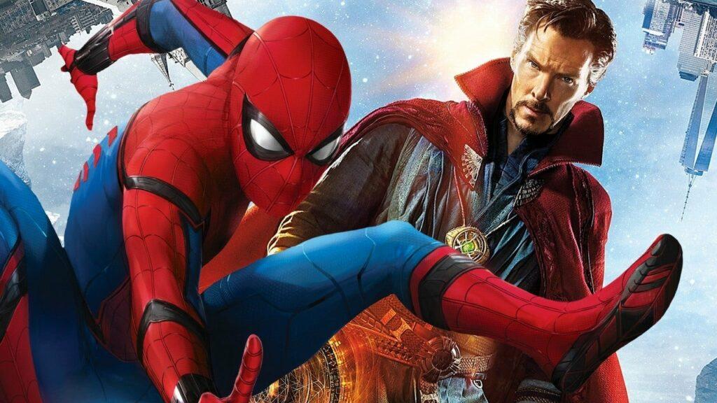 Le Docteur Strange et Spiderman en image