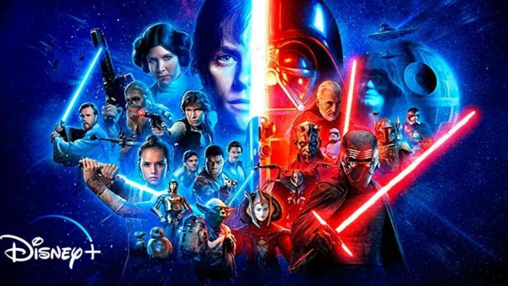 Le vaste univers de la Guerre des Étoiles.