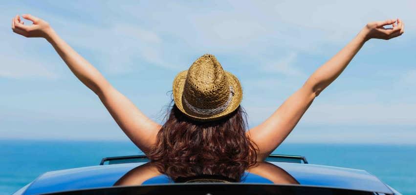 voyager pour se sentir libre et heureux