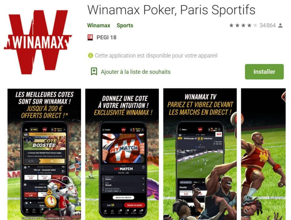 winamax application