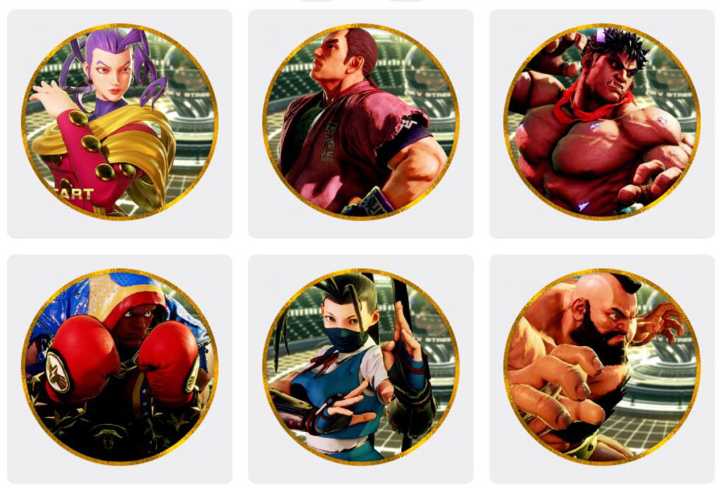 Nifties Street Fighter V