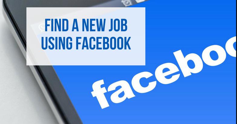 Trouver un emploi sur Facebook