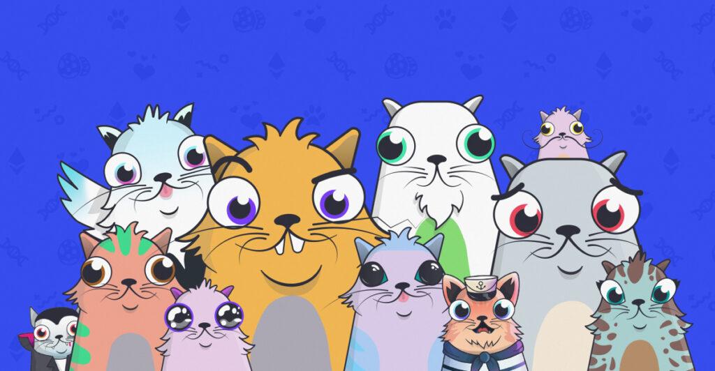 CryptoKitties les chats virtuels