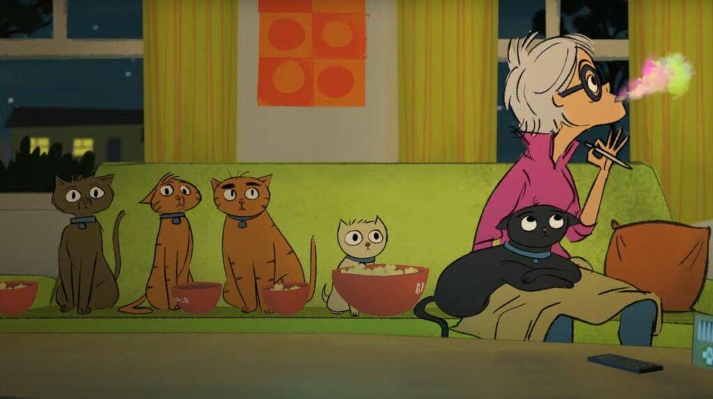 Nifties Les Stoner cats