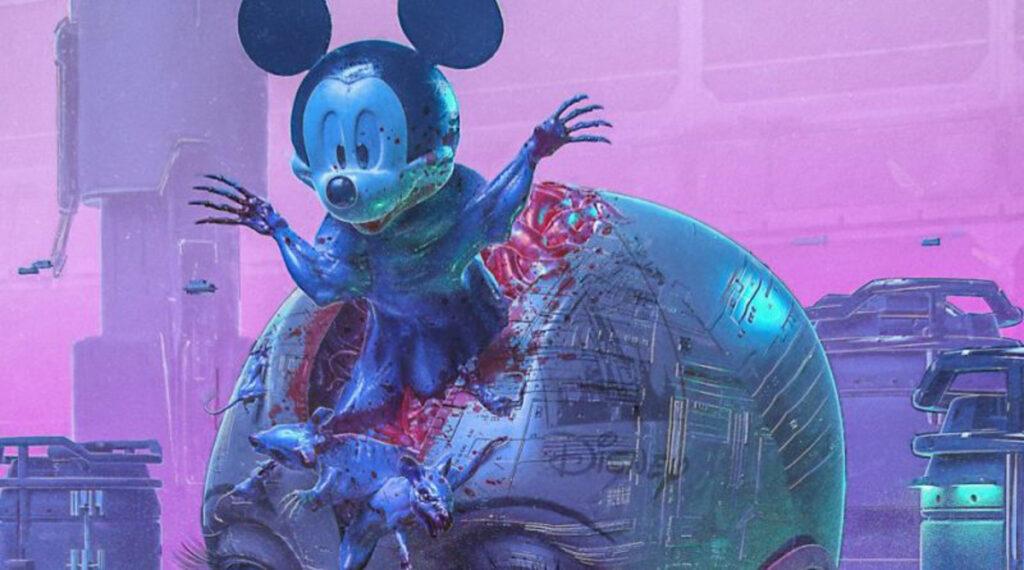 Un NFT de Beeple avec des animations de Disney