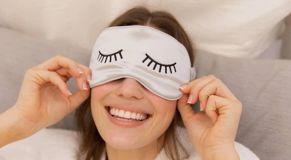 bienfaits du sommeil sur la peau