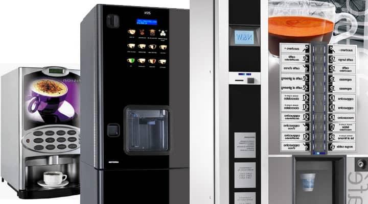 distributeur automatique de boissons chaudes