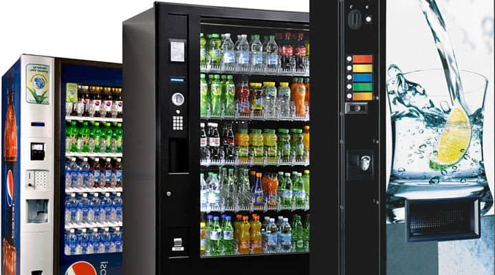 distributeur automatique de boissons froides