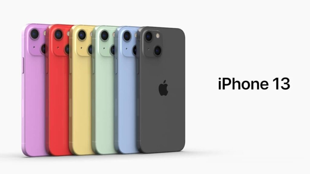 iPhone 13 couleurs