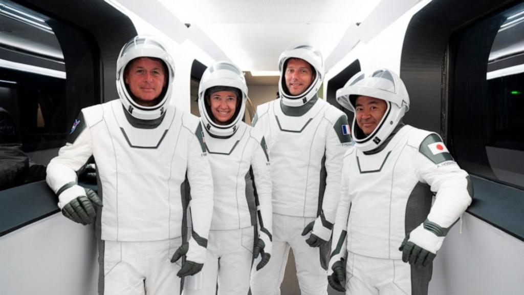 Les touristes spatiaux D'Inspiration4