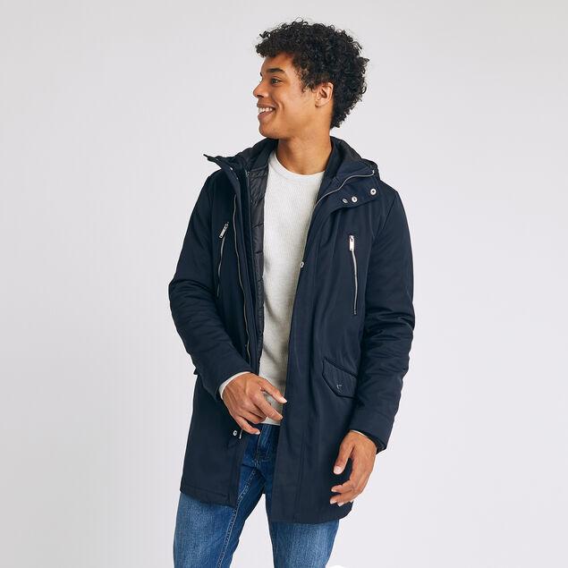 veste parka pour homme