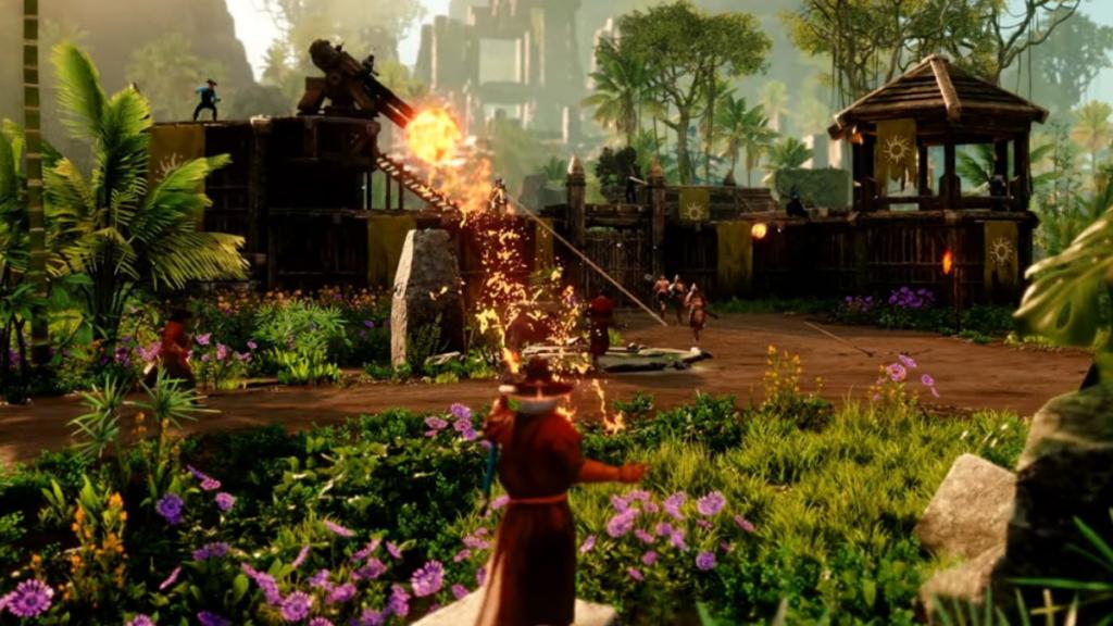 sortie mmorpg new world amazon game studios