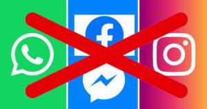 Une panne dans la société de Mark Zuckerberg