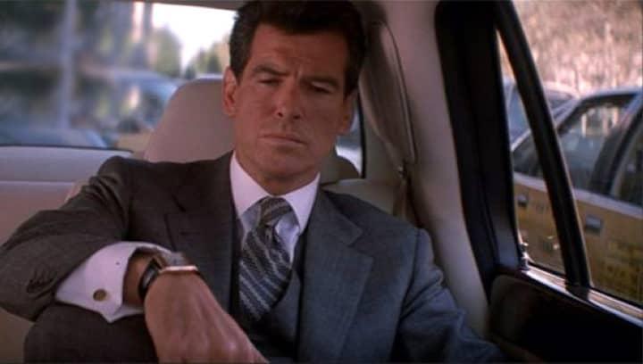 Pierce Brosnan James Bond montre Jaeger Lecoultre Reverso Duo