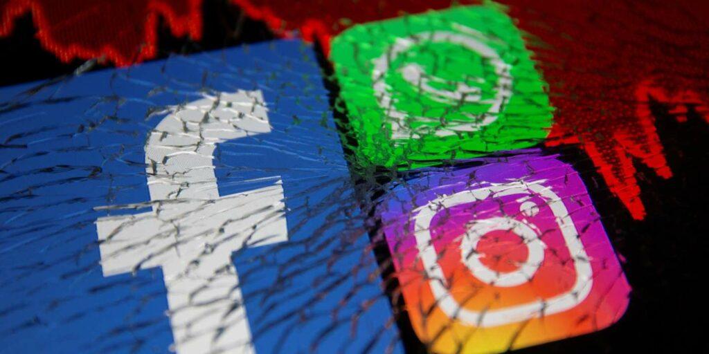 Les 3 grands réseaux sociaux en image